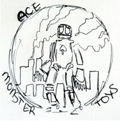 Ace Monster Toys Prototype Logo