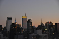Midtown @ Sunset (lbreiss34) Tags: nyc sunset midtown bloombergbuilding citicorpbuilding nycatnight