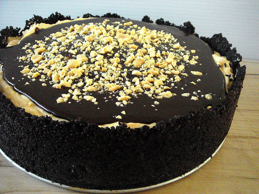 dorie greenspan's chocolate peanut butter torte