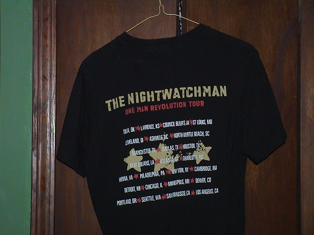 The Nightwatchman - One Man Revolution (Back)
