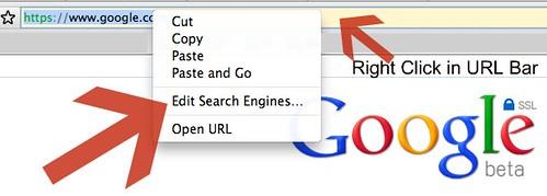 Google SSL Search Default