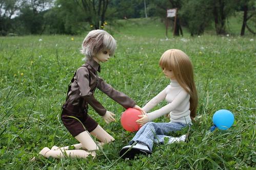 Славка и Полина