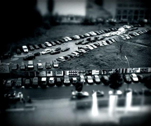 Urban wasteland.