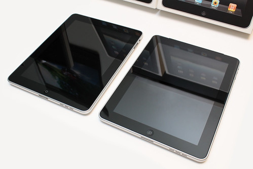 iPad 3G and iPad Wi-Fi