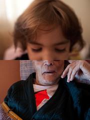 #01 O Retrato (tami campane) Tags: familia retrato sopaulo cecilia criana v v velho sobrinha bisneta idoso vilamatilde casadav bisav tamicampane