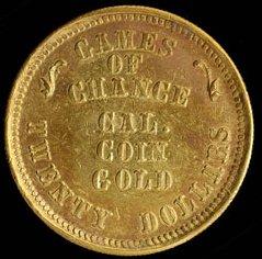 Diana Cal Gold coin fantasy obverse