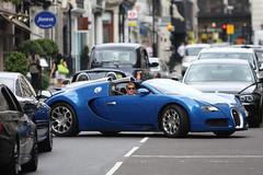 Stopping Traffic (Jamie McK) Tags: london canon bugatti veyron grandsport 70200mmf28lisusm 450d ah150ta