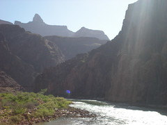 Colorado River Looking East from Suspension Bridge