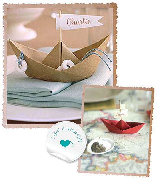 I Do It Yourself Something Borrowed DIY Paper Boat