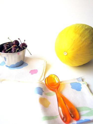 Insalata di Melone Giallo con Feta e Pecorino alla Menta
