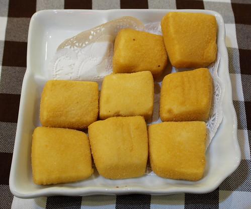 炸黃金豆腐