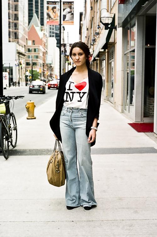 I heart NY, Street Fashion @ Yonge St., Toronto
