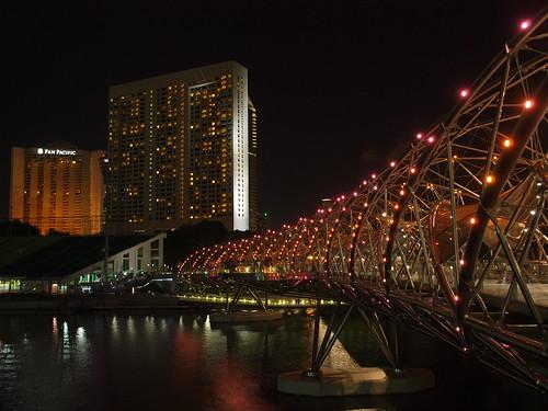 金沙綜合娛樂城 人行步道的夜色