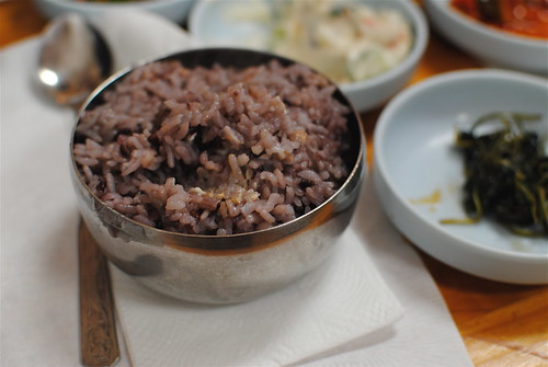 black rice at Mapo
