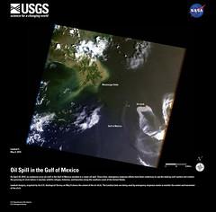 Gulf of Mexico Oil Spill - Landsat 5