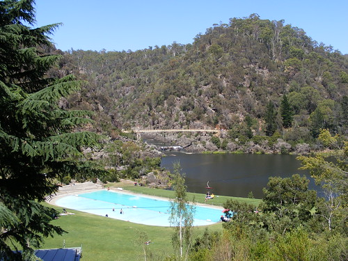 Swimming Pool at Cataract Gorge