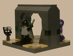 Hunted (P-Squiddy) Tags: lego space scifi minifig moc brickforge