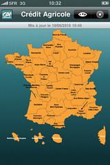 CA Mon Budget Screen : Localisation par Crédit Agricole