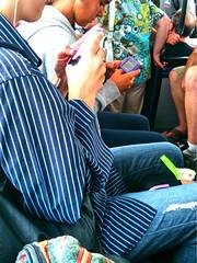 The World We Live In. (DeeAshley) Tags: california travel viaje summer color bus art photography photo dallas monterey airport interesting funny pretty day texas foto photos random unique contest bonito central vivid pointofview coastal fotos irony bonita verano carmel pebblebeach dfw variety lax pacificgrove ironic grapevine texting unedited layover divertido fotografia hipstamatic