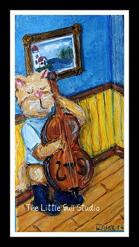 Cat and the Bass Fiddle