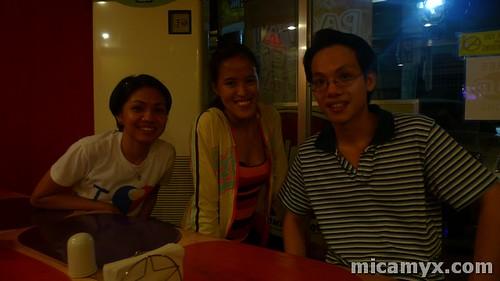 Rina, Mica and Alvin