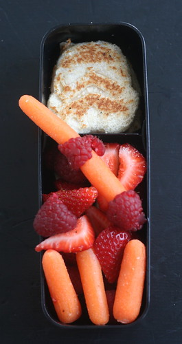 Ethan's self-made Star Wars bento