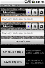 UK Traffic Checker for Android