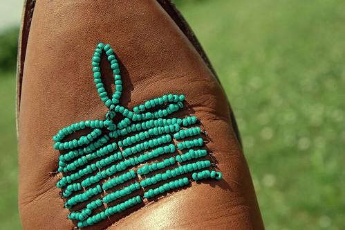 DIY-- Bead your cowboy boots