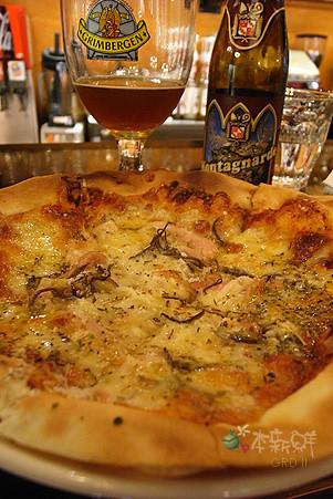 窯烤薄皮pizza
