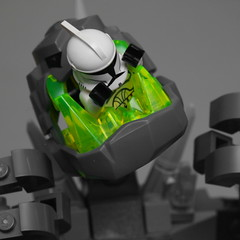 Day 310 (pasukaru76) Tags: starwars lego happymeal selectivecolor sigma105mm rockking projectclone365
