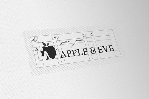 Guideline Logo Apple Apple Eve Logo Design