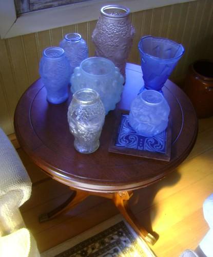 Coleção de vasos