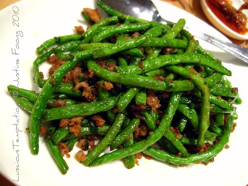 Stir Fried Baby Green Beans With Minced Pork - Din Tai Fung, The Gardens