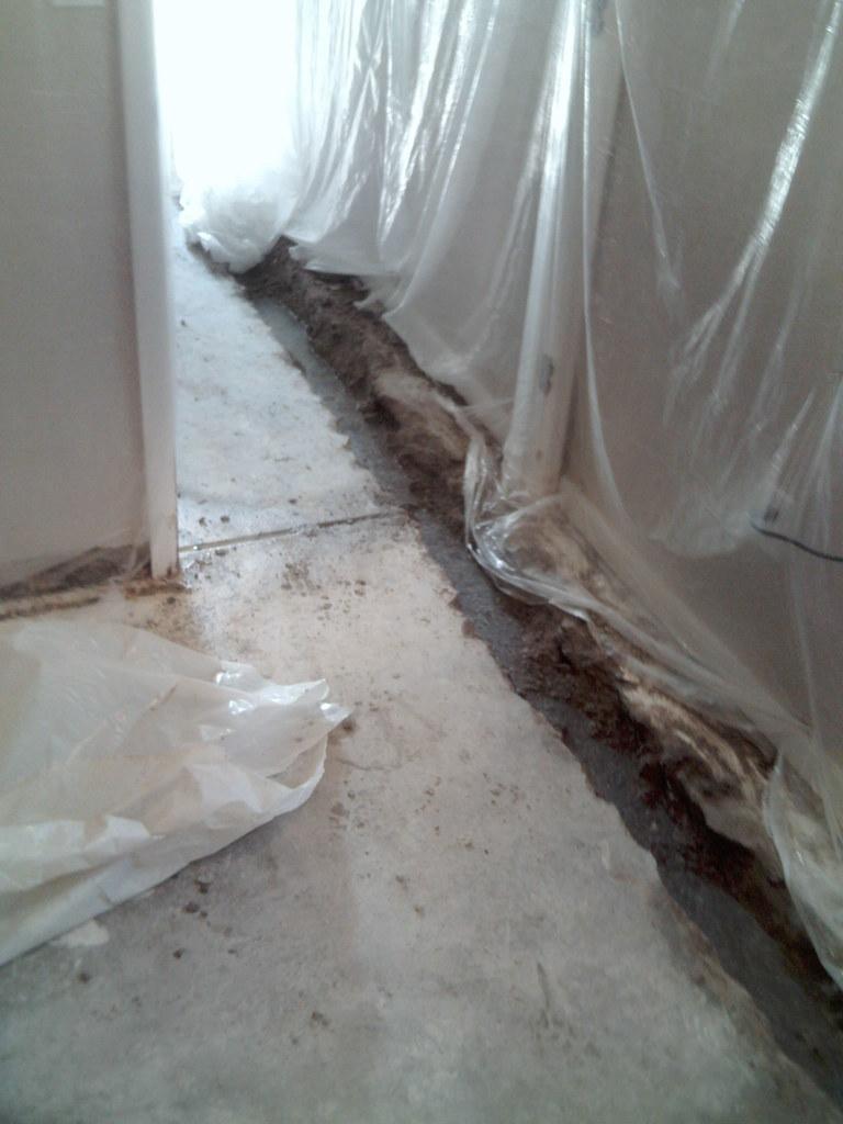 Perimeter Drain Tile Installation