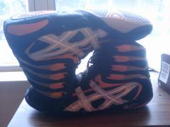 Asics Pursuit 2 II Size 11 Wrestling Shoe (fthtdtjt) Tags: orange shoe wrestling 11 size ii asics rare p2 pursuit2