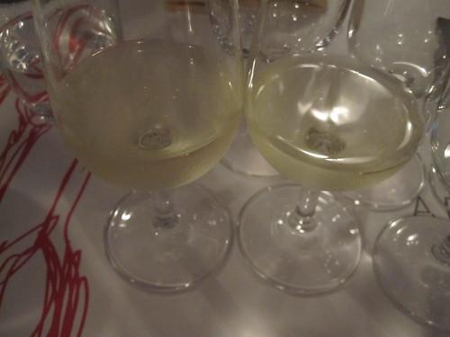 Pinot blanc, Arthur Metz 2008  et Gentil (Pinot gris, Riesling, Muscat et Sylvaner), Hugel 2008