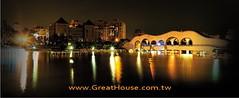 惠宇澄峰:豐樂公園~月夜越美麗