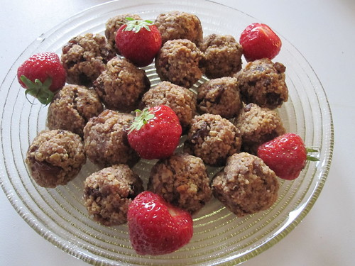 Cousco and Oat Balls