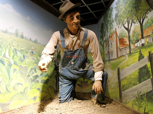 Creepy farmer
