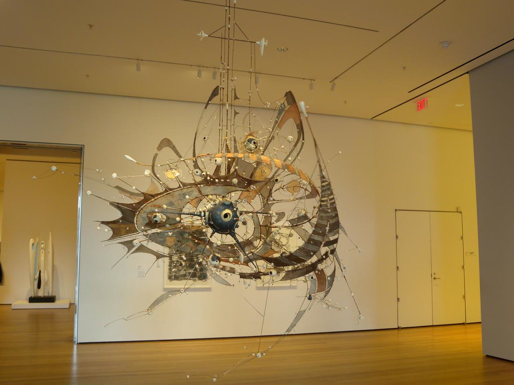 Lee Bontecou's Sculpture