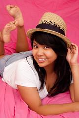 7 (djcire) Tags: cute girl hat pretty gun fsu filipino eden filipina cutegirl prettygirl headband asiangirl