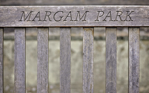 Bench At Margam Park