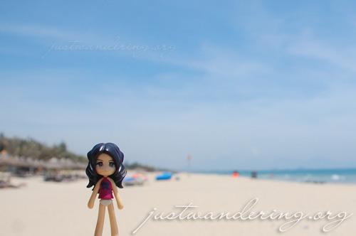 Sayuri at Cua Dai beach