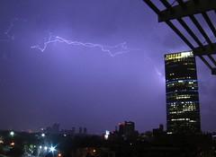 Torre Mayor + Rayo (golo) Tags: torre mayor rayos relampagos lightning storm tormenta mexico mexicocity