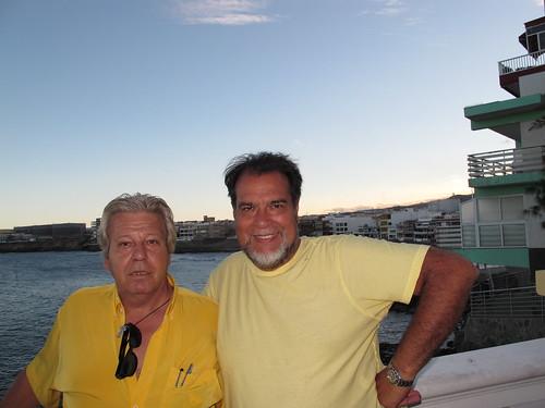 Avec mon ami Lazaro IMG_0914