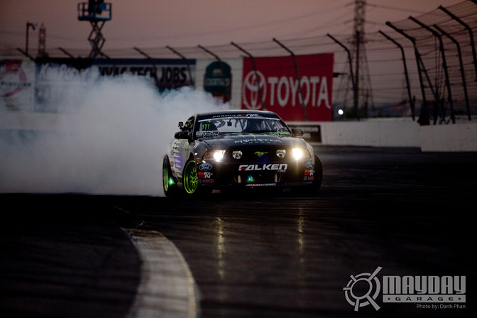Vaughn Gittin JR taking the 2010 series.