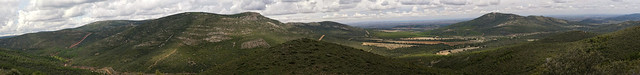 Vista al Norte con el Vasto, Zalvalea y Mingoliva