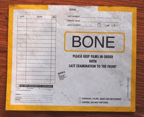 xray envelope