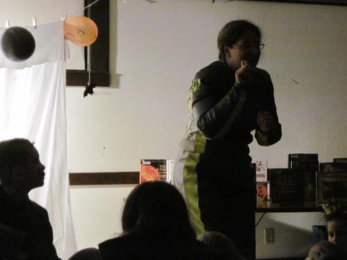 Lisa Tells A Spooky Story #2