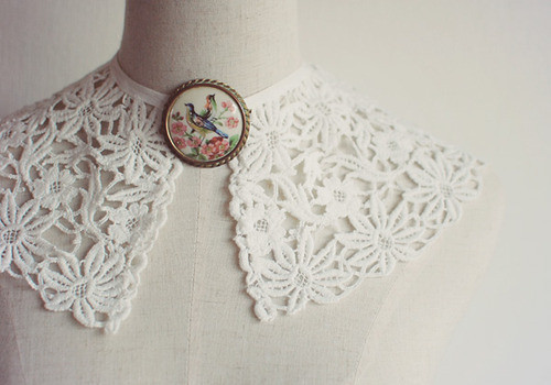 Pretty (detachable) collars